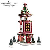 Thomas Kinkade Bell Tower Village Accessory