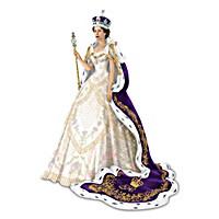 The Coronation Of Queen Elizabeth II Figurine