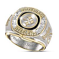 Pittsburgh Steelers Diamond Ring