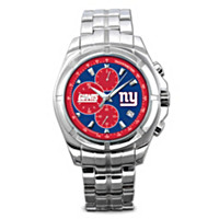 New York Giants NFL Chronograph Men's Watch