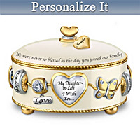 Daughter-In-Law, I Wish You Personalized Music Box