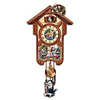 Happy Tails Cuckoo Clock