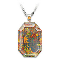 The Tom Thomson Crystal Pendant Necklace