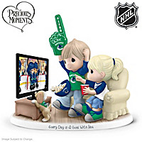 Every Day Is A Goal With You Canucks® Figurine