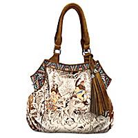 Mystic Wolf Handbag