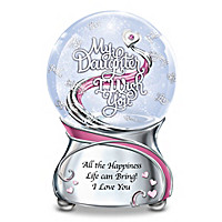 My Daughter, I Wish You Glitter Globe