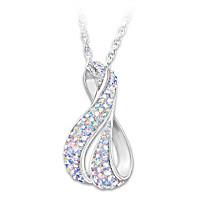 Aurora Borealis Pendant Necklace