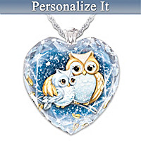 Owl Always Love You Personalized Pendant Necklace