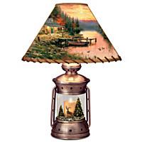 Thomas Kinkade Cottage Life Lamp