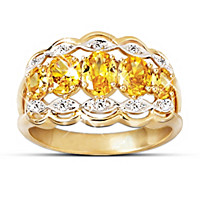 Dazzling Fire Ring