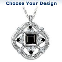 Women Of The Crown Pendant Necklace