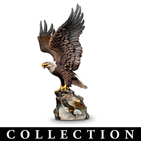 "Ted Blaylock ""Winged Protectors"" Eagle Sculpture Collection"