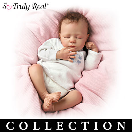 "The ""Breathing"" Lifelike Baby Doll Collection"