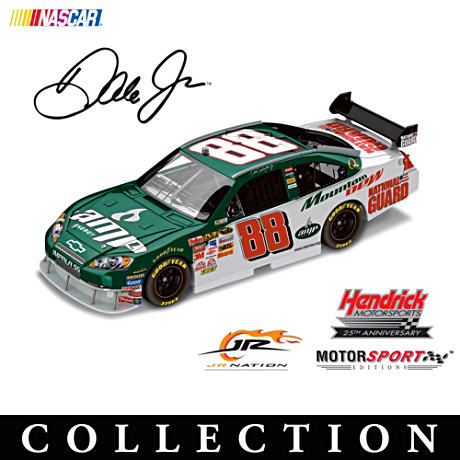 "1:24 Scale Dale Jr. ""Paint Schemes"" Diecast Cars"