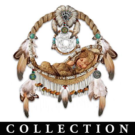 Replica Dreamcatcher Collection With Sleeping Babies