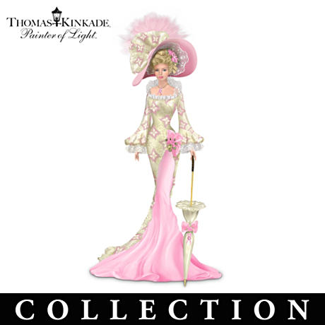 Thomas Kinkade Breast Cancer Support Ladies In Real Lace