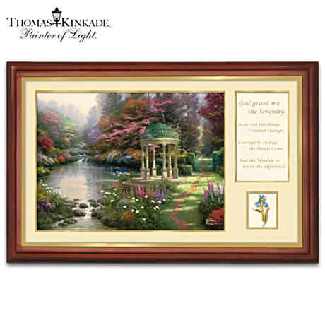 Thomas Kinkade Framed Art Collage Canvas Print