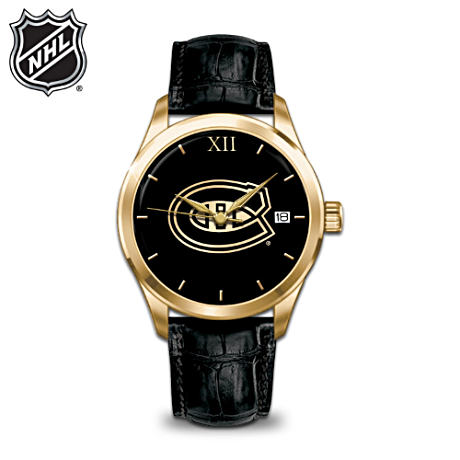 NHL® Montreal Canadiens® Engraved Men's Watch