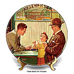Norman Rockwell The Jewelry Shop Collector Plate
