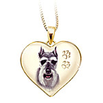 Keepsake Schnauzer Dog Pendant Necklace