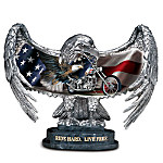 Ride Hard, Live Free Eagle Figurine