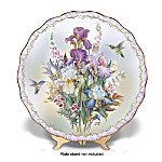 Lena Liu Enchanted Morning Collector Plate