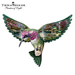 Thomas Kinkade The Garden of Prayer Hummingbird Wall Art Decor