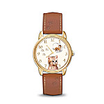 Purr-fect Companion Cat-Themed Watch