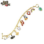 Wizard Of Oz Over The Rainbow Charm Bracelet