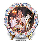 Untamed Superstar Elvis Presley Porcelain Collector Plates