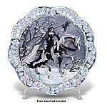 The Ice Princess Fantasy Art Collector Plate: Unique Home Decor