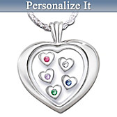 Mother's Loving Heart Pendant