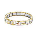 The Cat's Meow Italian Charm Bracelet: Cat Lover Gift