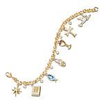 Life Of Jesus Inspirational Charm Bracelet: Christian Jewelry Gift