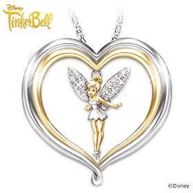 Tinker Bell Believe Pendant Necklace