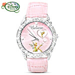 Disney Tinker Bell Believe Rotating Watch