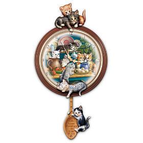 Kitchen Capers Clock