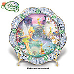 Disney Tinker Bell Fairy Dust Collector Plate: Collectible Tinker Bell Gift