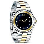 Valentines Gifts Timeless Love Stainless Steel Men's Watch: Romantic Jewelry Gift For Him