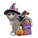 A Purr-fect Halloween Collectible Kitten Figurine