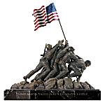 United States Marine Corps Memorial Tabletop Figurine Replica: Memories Of Honor