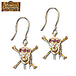 Pirates Of The Caribbean At Worlds End Earrings With Swarovski Crystals