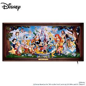The Magic Of Disney Wall Decor