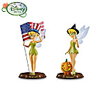 Disney Tinker Bells Sparkling Holidays Figurine: First Set Of Two