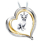 Chihuahua Loyal Companion Dog Lover Pendant Necklace