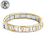 Forever Elvis Italian Charm Bracelet Elvis Presley