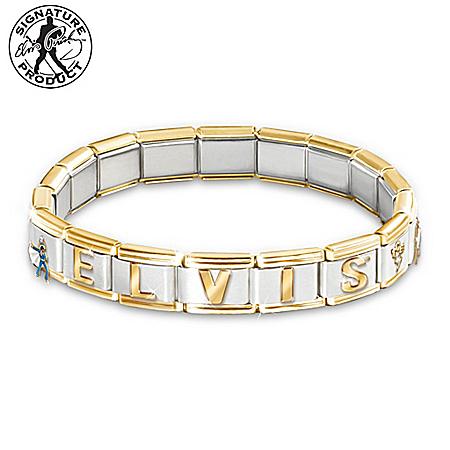 forever elvis italian charm bracelet elvis jewelry