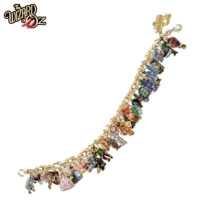 The Simpsons Ultimate Charm Bracelet Collectible Simpsons Jewelry By The Bradford Exchange