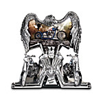 Freedom Rider Eagle And Chopper Figurine: Motorcycle Gift