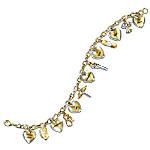 Nurse's Swarovski Crystals Charm Bracelet: A Nurse's Heart